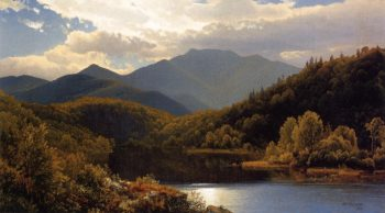 View in the White Mountains | William Trost Richards | oil painting