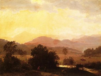 View of the Adirondacks | William Trost Richards | oil painting