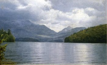 Wilmington Notch Lake Placid New York | William Trost Richards | oil painting