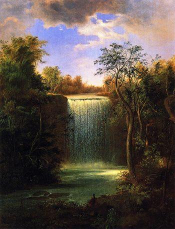 Falls of Minnehaha | Robert Scott Duncanson | oil painting