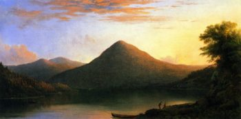 Owl's Head Mountain | Robert Scott Duncanson | oil painting