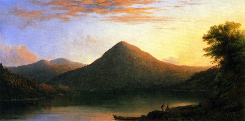 Owl's Head Mountain | Robert Scott Duncanson | oil painting