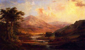 Scotch Landscape | Robert Scott Duncanson | oil painting