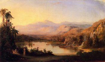 Vale of Kashmir | Robert Scott Duncanson | oil painting