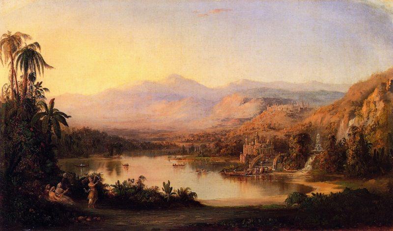 Vale of Kashmir   Robert Scott Duncanson   oil painting