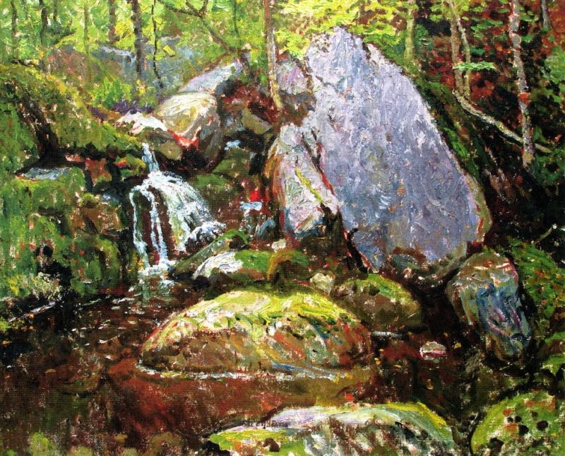 Forest Spring | John Joseph Enneking | oil painting