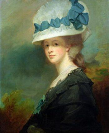 Mrs Musters | George Romney | oil painting