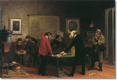 Scientists at Work | william holbrook beard | oil painting