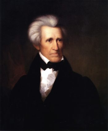 Andrew Jackson | Asher B Durand | oil painting