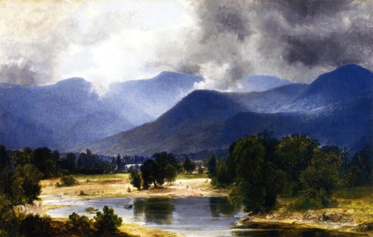 A View of the Shandaken Mountains | Asher B Durand | oil painting