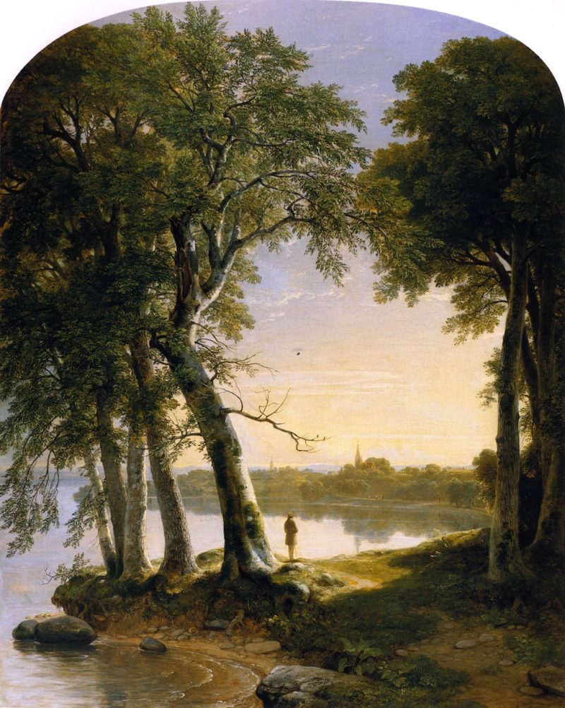 Early Morning at Cold Spring   Asher B Durand   oil painting