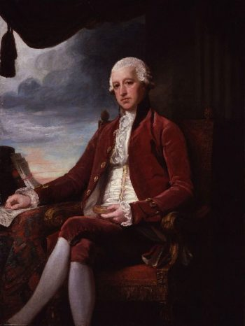 Charles Jenkinson 1st Earl of Liverpool | George Romney | oil painting