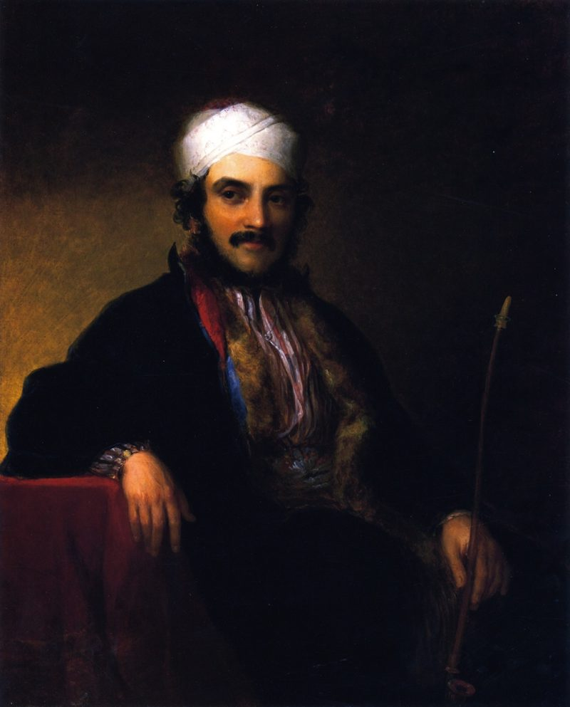 Isaac Edrehi of Morocco | Asher B Durand | oil painting