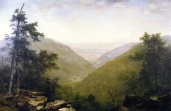 Kaaterskill Clove | Asher B Durand | oil painting
