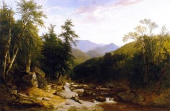 Mountain Stream | Asher B Durand | oil painting