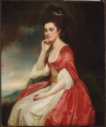 Lady Grantham | George Romney | oil painting