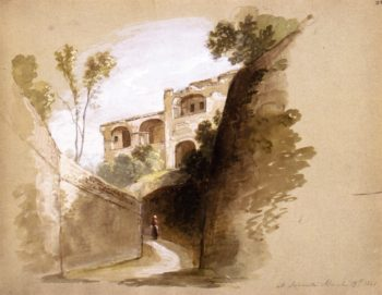 Sorrento   Asher B Durand   oil painting