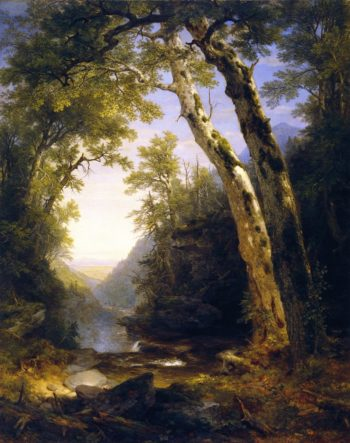 The Catskills | Asher B Durand | oil painting