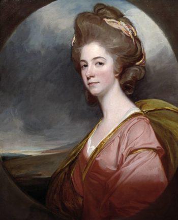 Lady Emilia Kerr | George Romney | oil painting