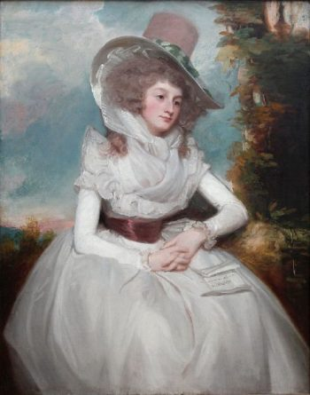 Catherine Clemens | George Romney | oil painting