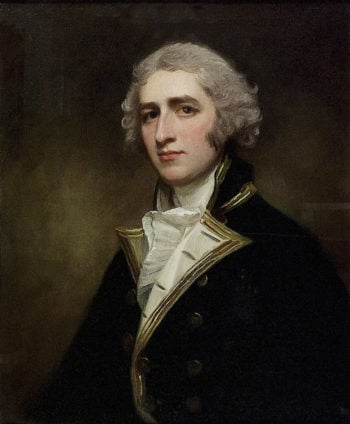 Captain William Bentinck | George Romney | oil painting