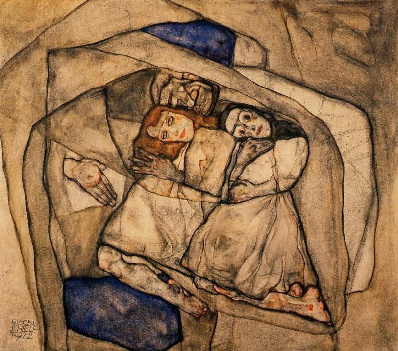 Conversion | Egon Schiele | oil painting