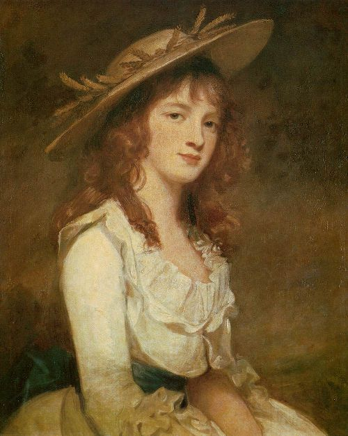 Miss Constable | George Romney | oil painting