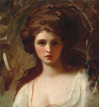 Lady Hamilton as Circe | George Romney | oil painting