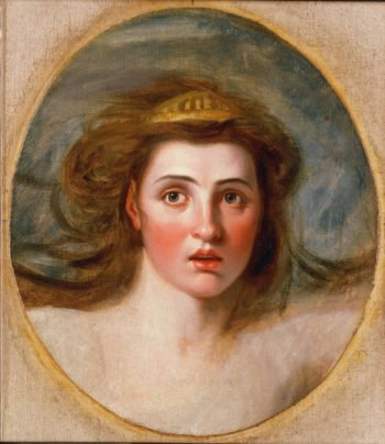 Lady Emma Hamilton as Cassandra | George Romney | oil painting