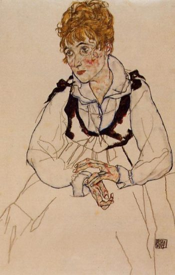 Frau Schiele | Egon Schiele | oil painting