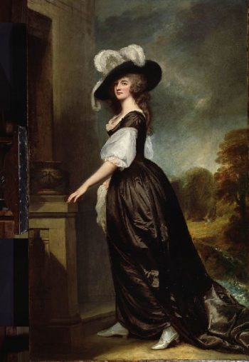 Charlotte Lady Milnes | George Romney | oil painting
