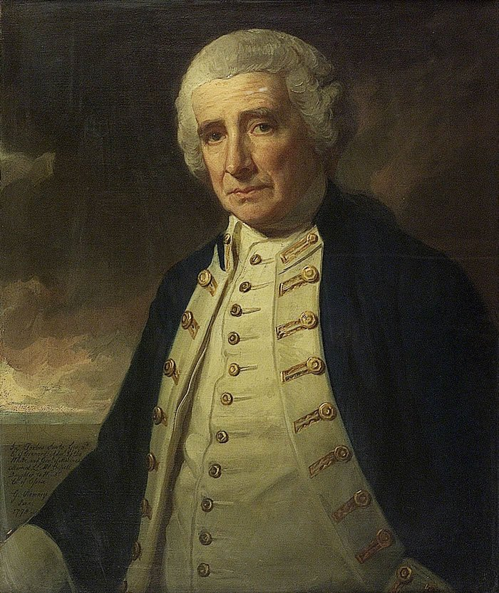 Admiral John Forbes | George Romney | oil painting