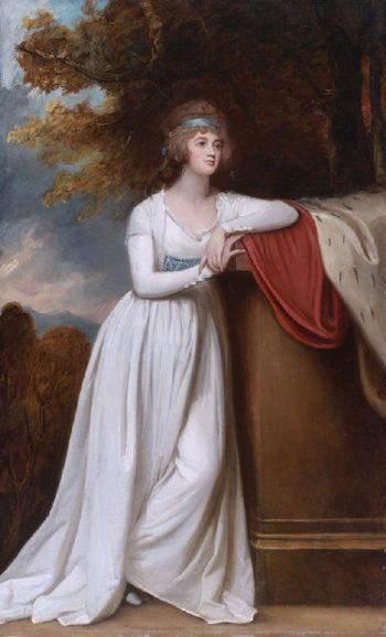 Barbara Marchioness of Donegall | George Romney | oil painting