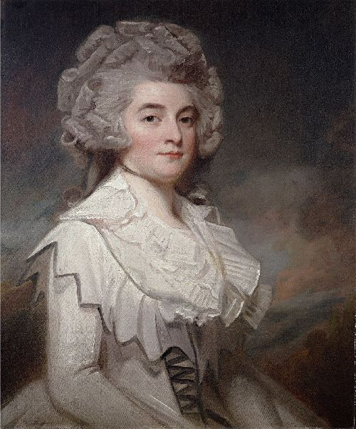 Miss Mary Finch Hatton | George Romney | oil painting