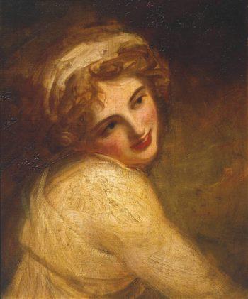 Lady Hamilton | George Romney | oil painting