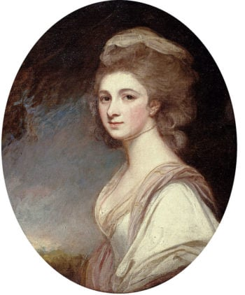 Miss Frances Mary Harford | George Romney | oil painting
