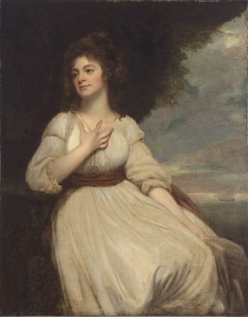 Mrs Crouch | George Romney | oil painting