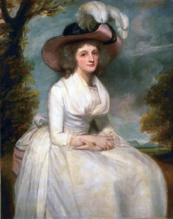 Charlotte Grove | George Romney | oil painting