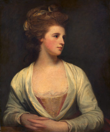 A woman said to be Emily Bertie Pott | George Romney | oil painting