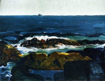 The Rich Water | George Wesley Bellows | oil painting