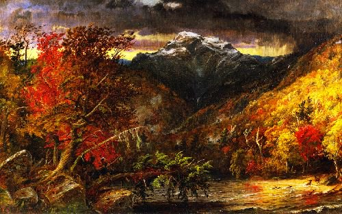 Autumn in America | Jasper Francis Cropsey | oil painting