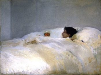 Mother | Joaquin Sorolla y Bastida | oil painting