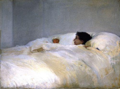 Mother | Joaquin Sorolla y Bastida | oil painting