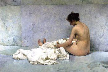 After Bathing   Joaquin Sorolla y Bastida   oil painting