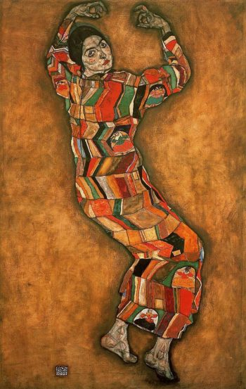 Portrait of Friederike Maria Beer | Egon Schiele | oil painting