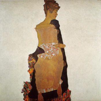 Portrait of Gerti Schiele | Egon Schiele | oil painting