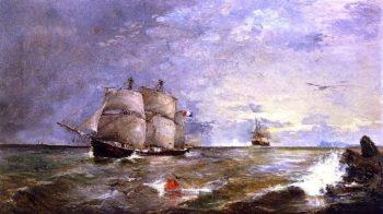 Seascape | Joaquin Sorolla y Bastida | oil painting
