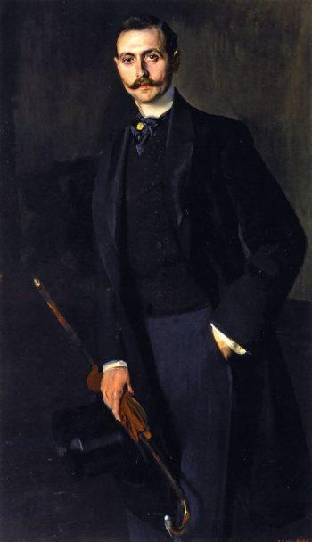 Aureliano de Beruete y Moret Son | Joaquin Sorolla y Bastida | oil painting