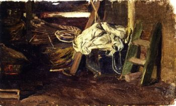 The Hold of a Fishing Vessel | Joaquin Sorolla y Bastida | oil painting
