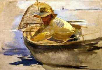 The Return from Fishing 2 | Joaquin Sorolla y Bastida | oil painting